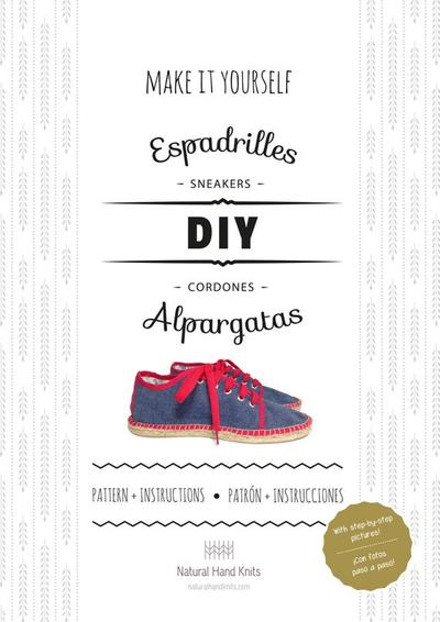 Instructions to make your own espadrille sneakers