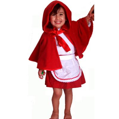 PDF Little Red Riding Hood pattern. Costume for girls.