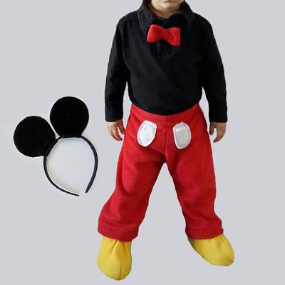 PDF Mickey Mouse pattern, Costume for boys.