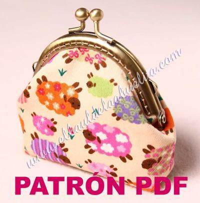 Patrón PDF - Monedero con boquilla Claudia