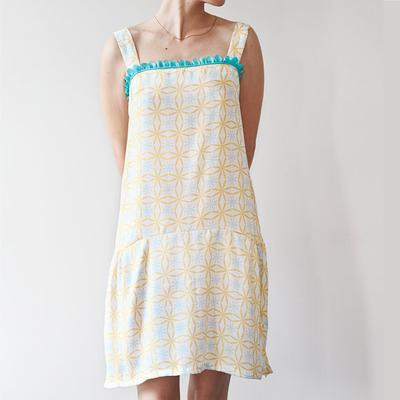 Dress PDF Pattern Easy To Make (Inspired Vintage Sewing Pattern)