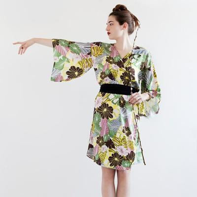 Two pattern for download from a tradicional kimono & a flower dress