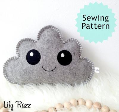 Cloud Pillow Sewing Pattern