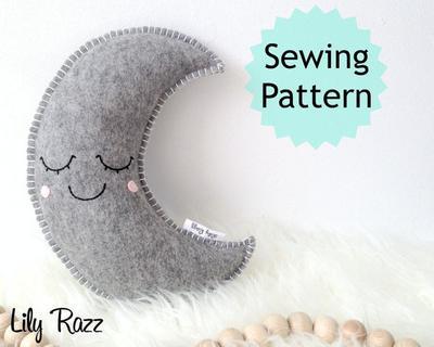 Sleepy Moon PDF Pattern