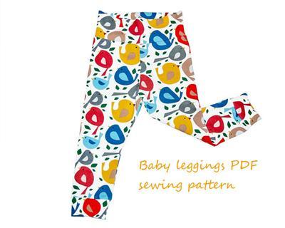 Baby leggings pattern PDF