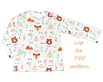 Baby shirt pattern pdf.