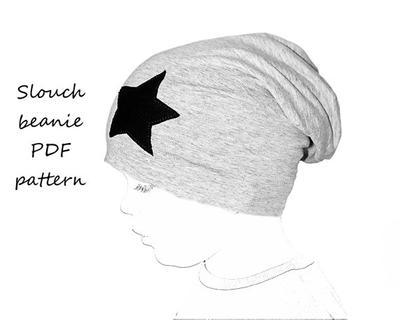 Slouchy beanie pattern PDF