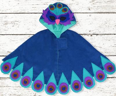 Cape Pattern. Halloween Costume pattern-