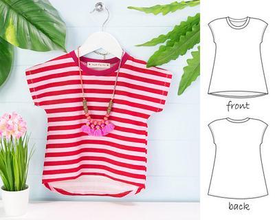 Tshirt pattern pdf- tshirt sewing pattern pdf.