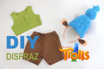 Colaboración Disfraz Trolls para niños