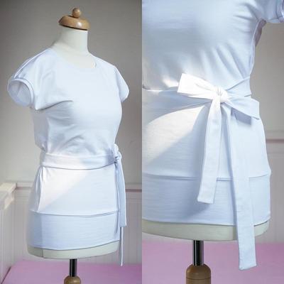 Women T-shirt EASY with short kimono sleeves