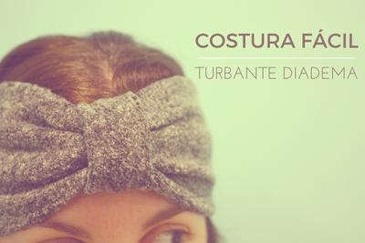 Costura fácil: Cómo hacer turbantes diadema de tela