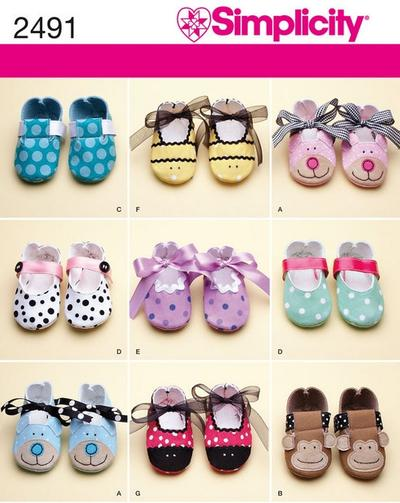 Baby Shoe Sewing Pattern