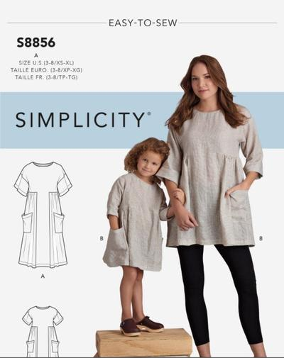 Childrens and Misses Dress and Tunic