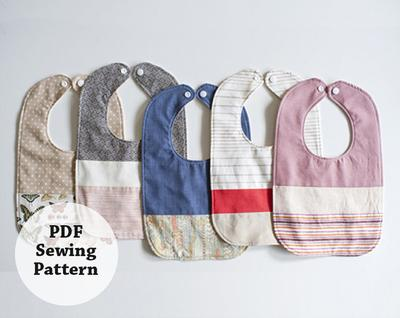Baby Bib (PDF Sewing Pattern)