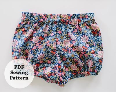 Baby Bloomers (PDF Sewing Pattern) Girls Apparel