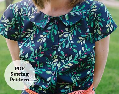 Glea Dress (PDF Sewing Pattern) Women's Apparel