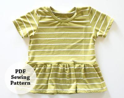Glory Tee (PDF Sewing Pattern)