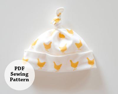 Lessie Hat (PDF Sewing Pattern)