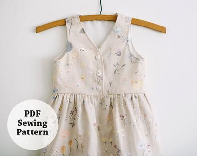Maeve Jumper (PDF Sewing Pattern) Girls Apparel